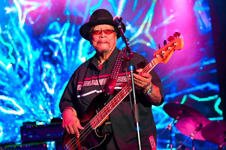 Billy Cox with Experience Hendrix Tour at Pompano Beach Amphitheater, Pompano Beach, Florida, March 3, 2019.