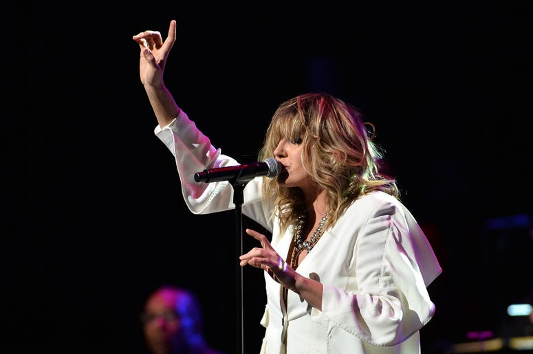 Musician Grace Potter performs during the 3rd Annual LOVE ROCKS NYC concert at the Beacon Theatre in New York, NY, March 7, 2019.