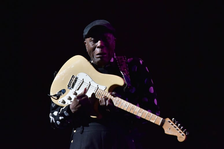 Musician Buddy Guy performs during the 3rd Annual LOVE ROCKS NYC concert at the Beacon Theatre in New York, NY, March 7, 2019.