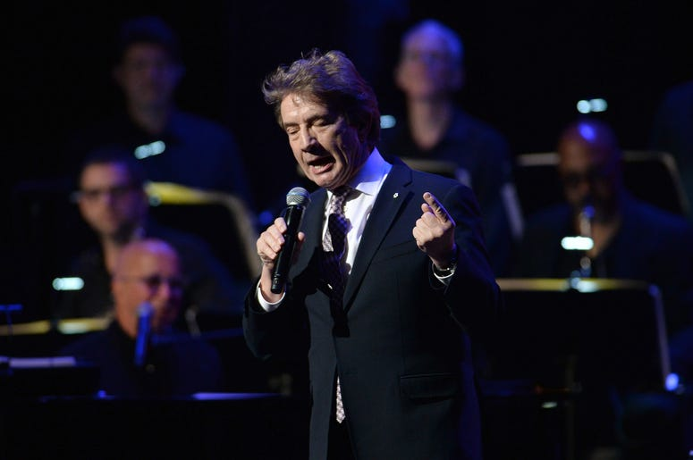 Actor and comedian Martin Short speaks on stage during the 3rd Annual LOVE ROCKS NYC concert at the Beacon Theatre in New York, NY, March 7, 2019.