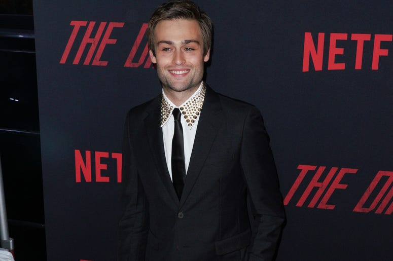 Douglas Booth at Los Angeles Premiere Of Netflix's 'The Dirt' held at The ArcLight Hollywood - Cinerama Dome on March 18, 2019 in Hollywood, CA,