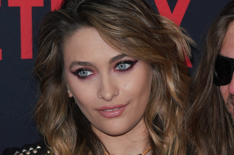 Paris Jackson at Los Angeles Premiere Of Netflix's 'The Dirt' held at The ArcLight Hollywood - Cinerama Dome on March 18, 2019 in Hollywood, CA