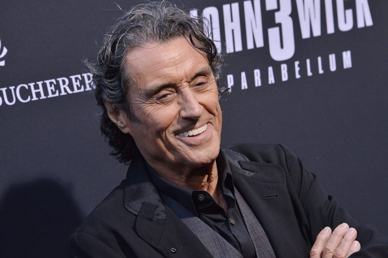 """Ian McShane arrives at Lionsgate's """"John Wick: Chapter 3 - Parabellum"""" Los Angeles Special Screening held at the TCL Chinese Theater in Hollywood, CA on Wednesday, May 15, 2019."""