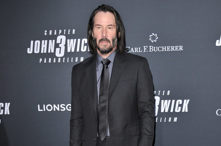 """Keanu Reeves arrives at Lionsgate's """"John Wick: Chapter 3 - Parabellum"""" Los Angeles Special Screening held at the TCL Chinese Theater in Hollywood, CA on Wednesday, May 15, 2019."""