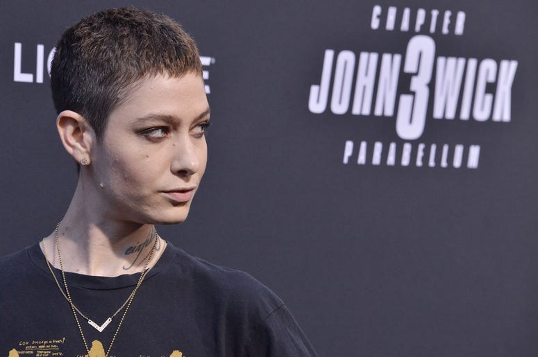 """Asia Kate Dillon arrives at Lionsgate's """"John Wick: Chapter 3 - Parabellum"""" Los Angeles Special Screening held at the TCL Chinese Theater in Hollywood, CA on Wednesday, May 15, 2019. ("""