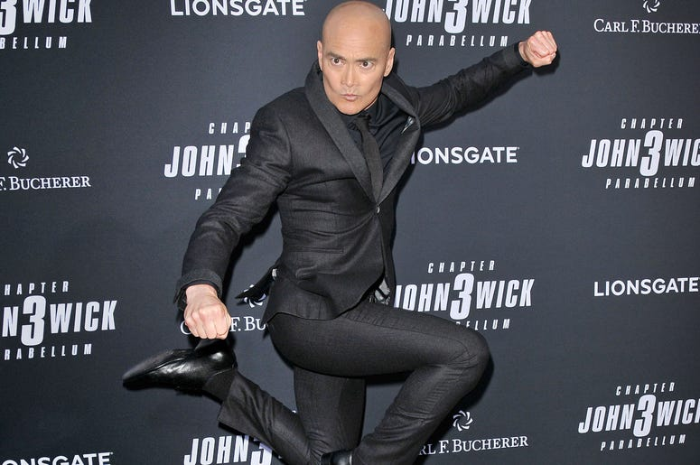 """arrives at Lionsgate's """"John Wick: Chapter 3 - Parabellum"""" Los Angeles Special Screening held at the TCL Chinese Theater in Hollywood, CA on Wednesday, May 15, 2019."""