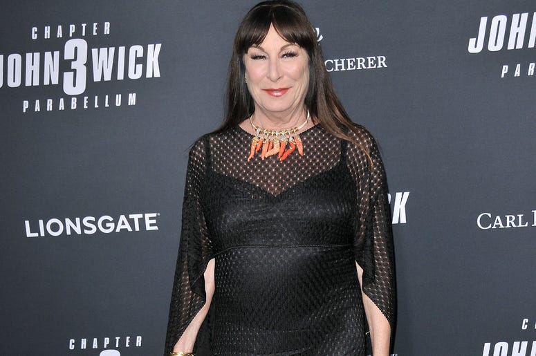 """Angelica Huston arrives at Lionsgate's """"John Wick: Chapter 3 - Parabellum"""" Los Angeles Special Screening held at the TCL Chinese Theater in Hollywood, CA on Wednesday, May 15, 2019."""