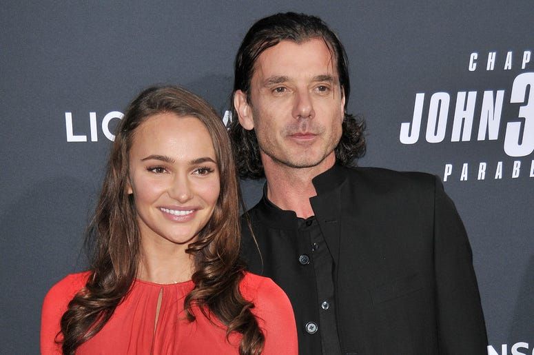 """(L-R) Natalie Golba and Gavin Rossdale at Lionsgate's """"John Wick: Chapter 3 - Parabellum"""" Los Angeles Special Screening held at the TCL Chinese Theater in Hollywood, CA on Wednesday, May 15, 2019."""