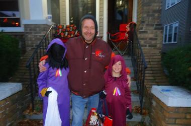 Holyko Celebrates Halloween With His 2 Older Boys