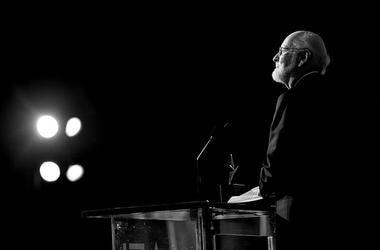 AFI Life Achievement Award recipient John Williams speaks onstage