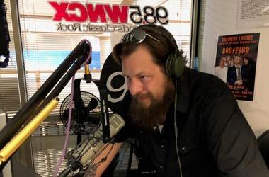 Kenny Kidd in studio