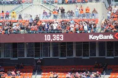 Joe Thomas' consecutive snaps streak of 10,363 in the ring of honor