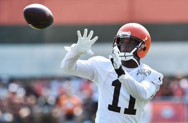 Cleveland Browns wide receiver Antonio Callaway