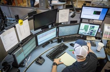 The Delaware County Emergency Communications Center is the hub for both city and Delaware County 911 calls. Mni 0514 Citycounty91127
