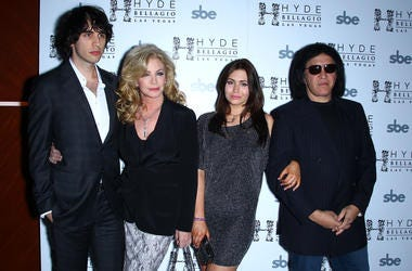 Nick Simmons, Shannon Tweed, Sophie Simmons, Gene SImmons