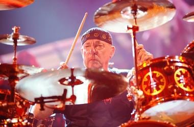 Neil Peart, drummer and lyricist of iconic Canadian rock band Rush