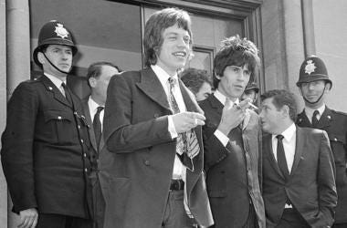 Mick Jagger, (left) and Keith Richards