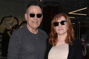 Musician Bruce Springsteen and Patti Scialfa