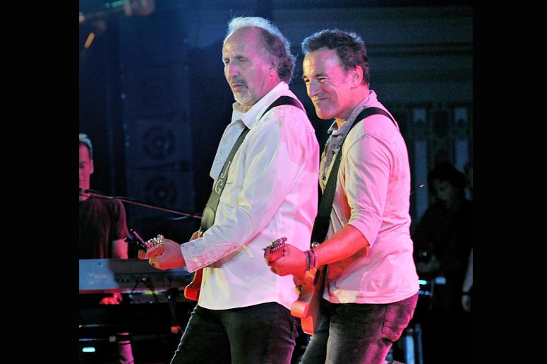 Legendary musician BRUCE SPRINGSTEEN joins Pittsburgh rocker JOE GRUSHECKY