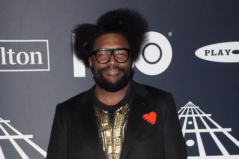 Questlove attends the 2019 Rock & Roll Hall Of Fame Induction Ceremony at Barclays Center on March 29, 2019 in Brooklyn, New York.