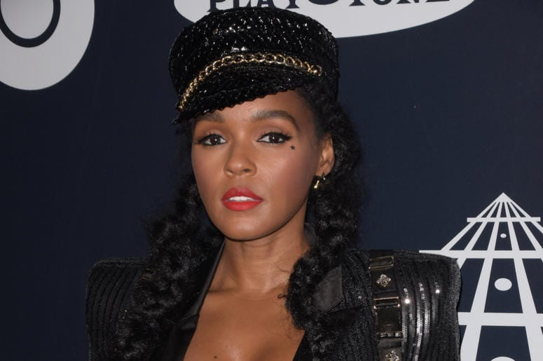 Janelle Monae attends the 2019 Rock & Roll Hall Of Fame Induction Ceremony at Barclays Center on March 29, 2019 in Brooklyn, New York.
