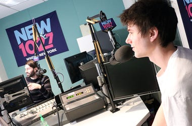 Alec Benjamin at NEW 102.7