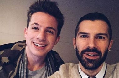 Charlie Puth and Mike Adam