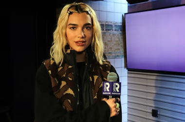 Dua Lipa in the RADIO.COM Theater