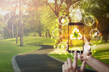 Eco friendly smartphone apps