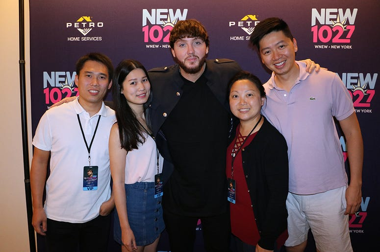 James Arthur Meets Fans at NEW 102.7's 'Up Close & Personal'