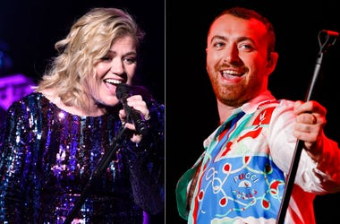 Kelly Clarkson and Sam Smith