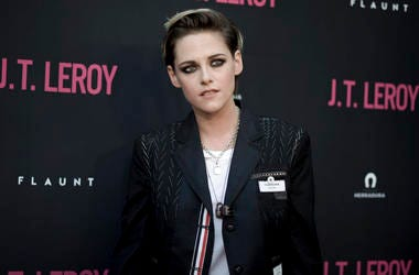 """Kristen Stewart attends the LA Premiere of """"JT LeRoy"""" at ArcLight Hollywood"""