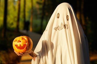 DIY Ghost Costume