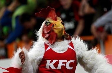 KFC Mascot
