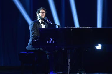 Josh Groban Playing Piano