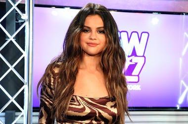 Selena Gomez at NEW 102.7