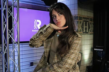 Camila Cabello in the RADIO.COM Theater