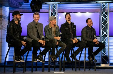 Backstreet Boys at NEW 102.7
