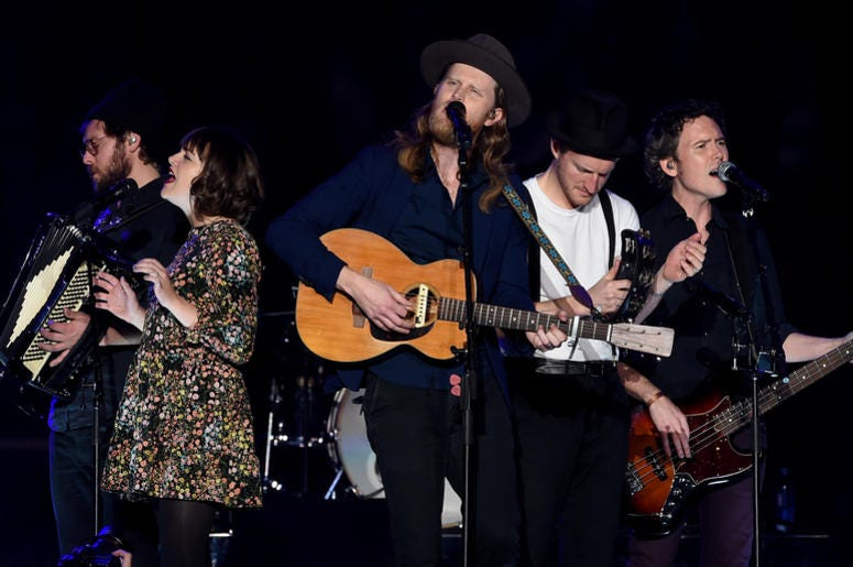 The Lumineers Performing Live
