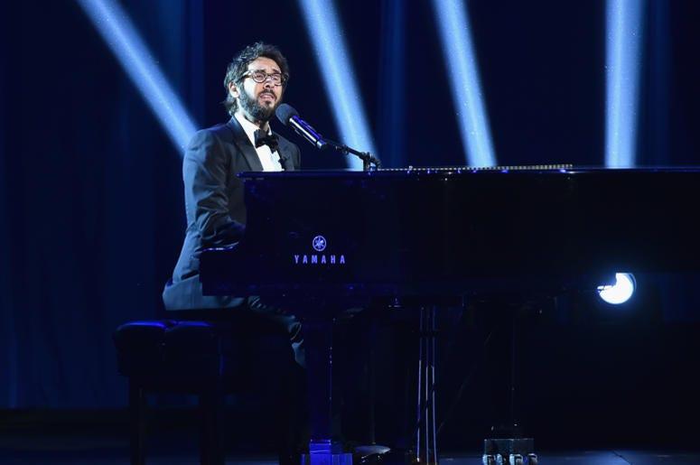 Josh Groban Playing Piano