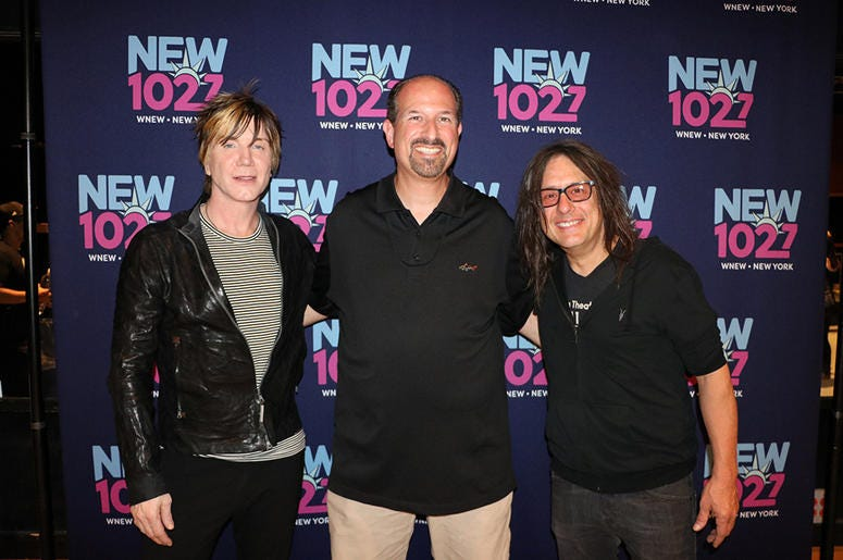 Goo Goo Dolls meet fans at NEW 102.7's 'Up Close & Personal' in NYC