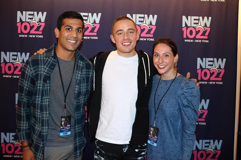 Dermot Kennedy Meets Fans in the RADIO.COM Theater at NEW 102.7's 'Up Close & Personal'