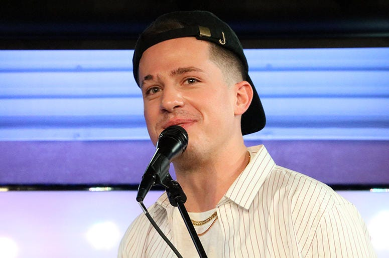 Charlie Puth in the RADIO.COM Theater for NEW 102.7's 'Up Close & Personal'