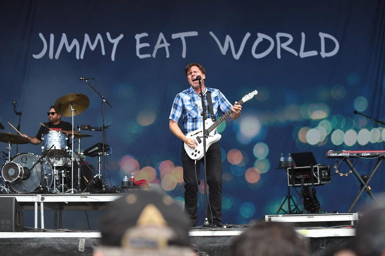 Jimmy Eat World on stage