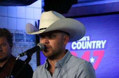 Justin Moore at NY's Country 94.7