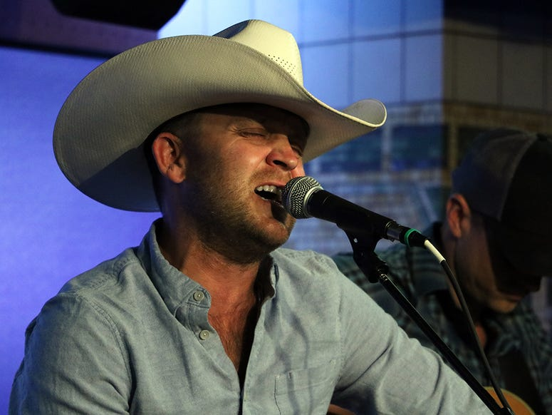 Justin Moore performs at NY Country 94.7