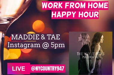 Maddie and Tae Happy Hour