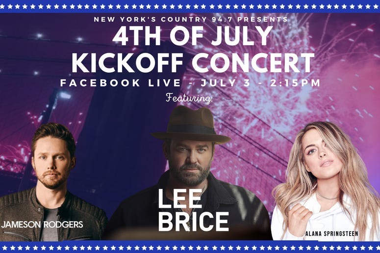 Lee Brice Summer Concert Series