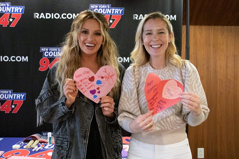 Carly Pearce and Katie Neal at NY's Country 94.7