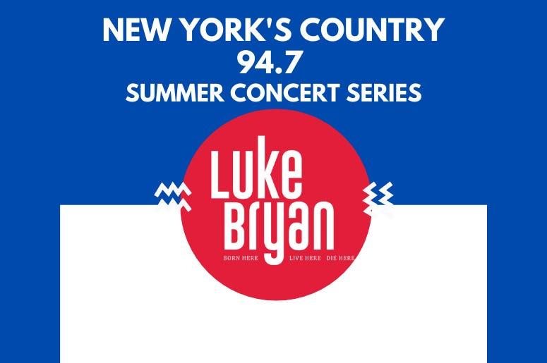 Luke Bryan Summer Series